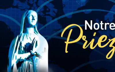 Chaîne de prière du 17 au 25 mars