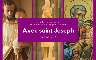 Avec saint Joseph