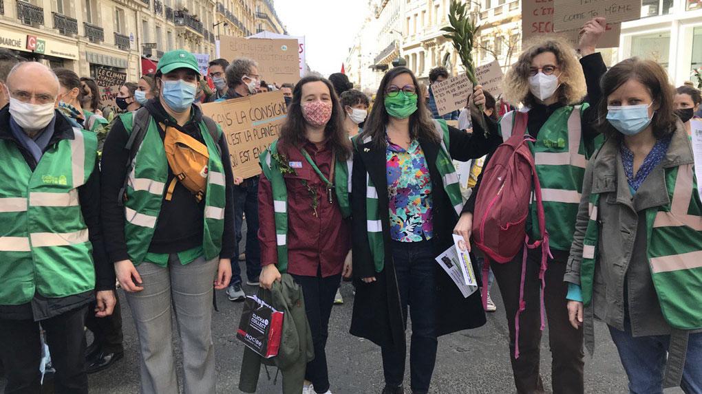 faire entendre la voix des chrétiennes et des chrétiens en faveur de l'écologie